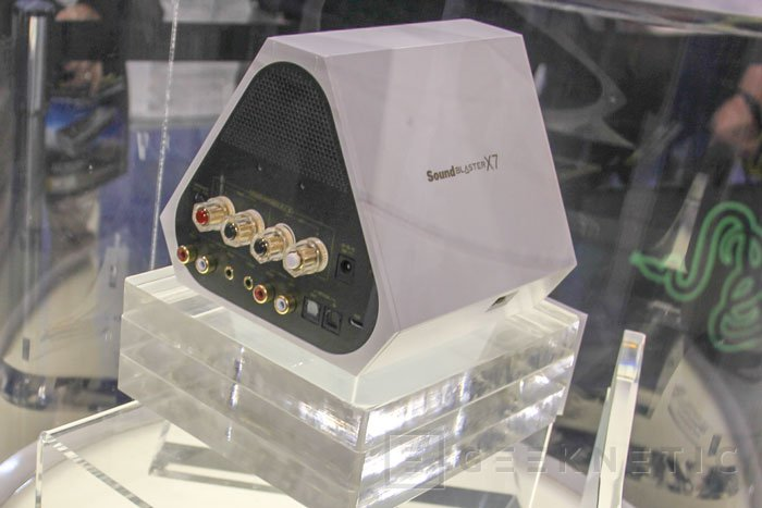 Creative aumenta la potencia de su Sound Blaster X7 y la tiñe de blanco en una edición limitada, Imagen 2