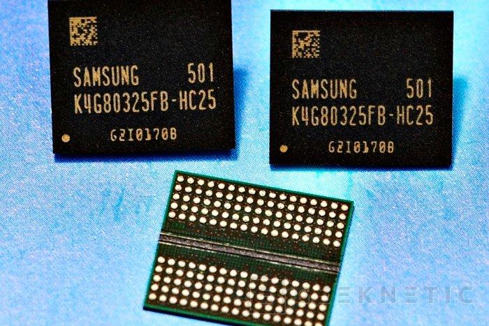 Samsung ya fabrica chips de memoria GDDR5 de 8 Gb , Imagen 1