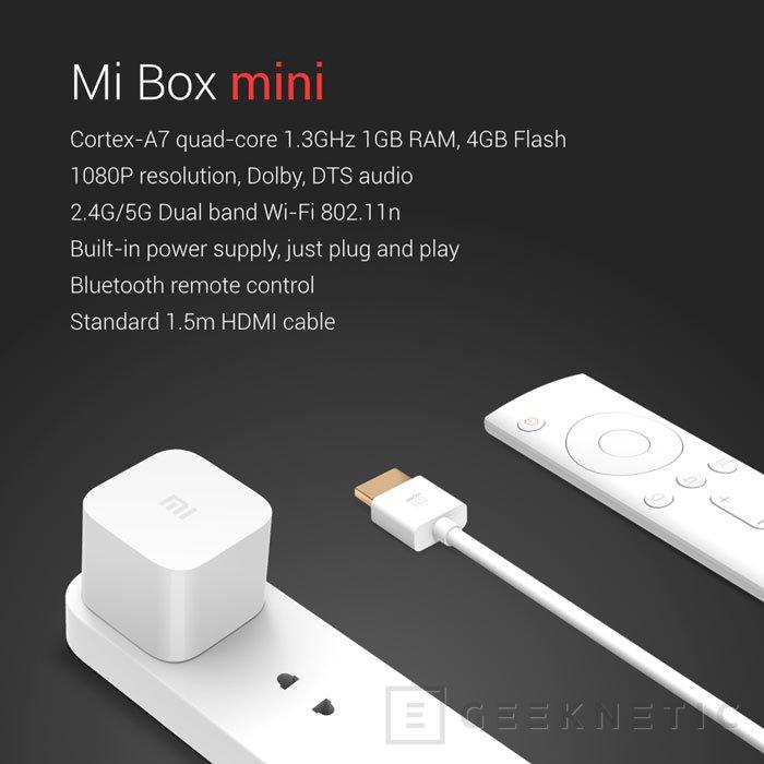 Xiaomi sorprende con su Mi Box Mini, un pequeño reproductor multimedia, Imagen 3