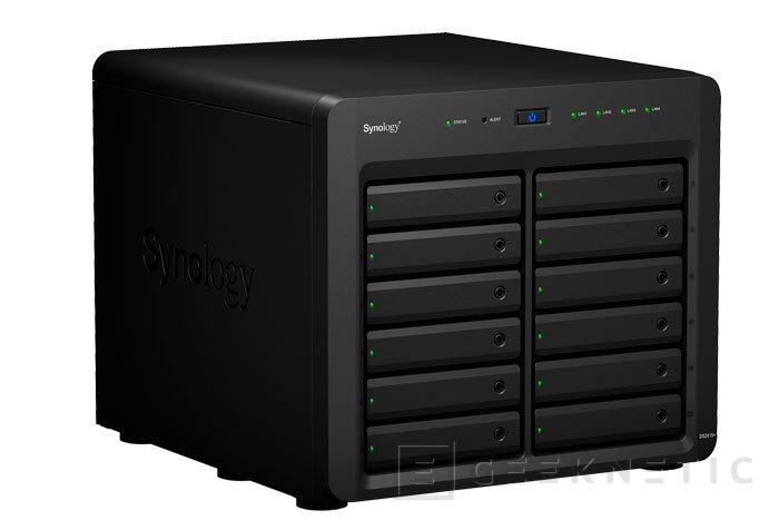 Synology lanza al mercado 3 nuevos NAS para empresas, Imagen 1