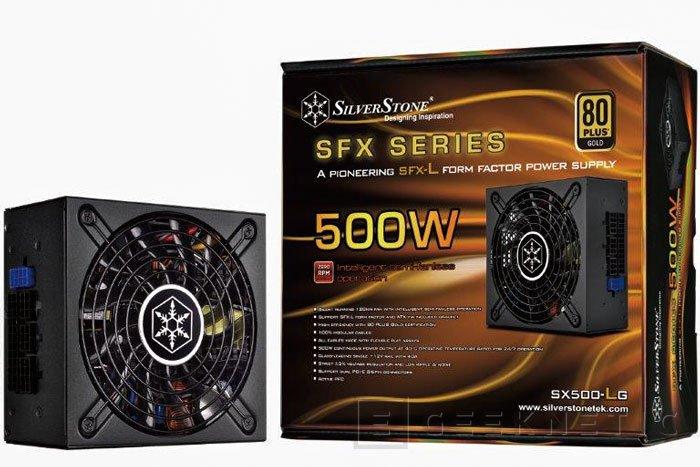 SilverStone lanza en España su fuente compacta SX500-LG, Imagen 1