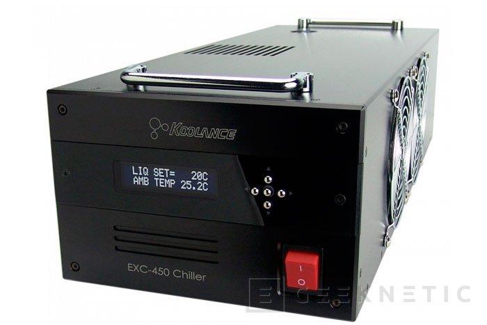 Koolance Chiller EXC-450, una refrigeración externa para entusiastas, Imagen 1