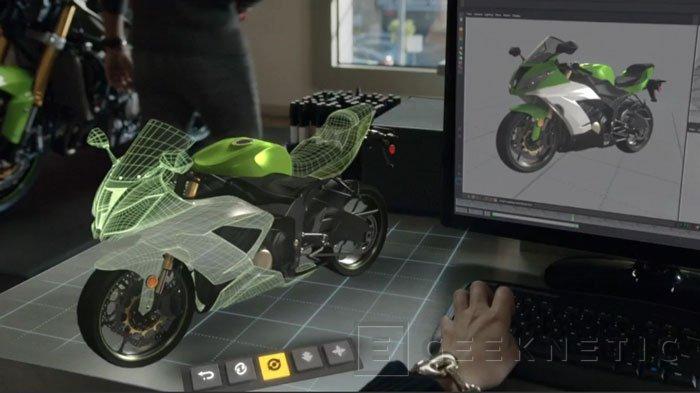 Microsoft entra en la realidad aumentada holográfica con Windows Holographic y HoloLens, Imagen 2