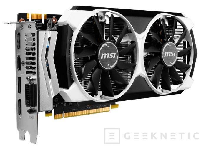 MSI lanza tres modelos diferentes basados en la GeForce GTX 960, Imagen 2