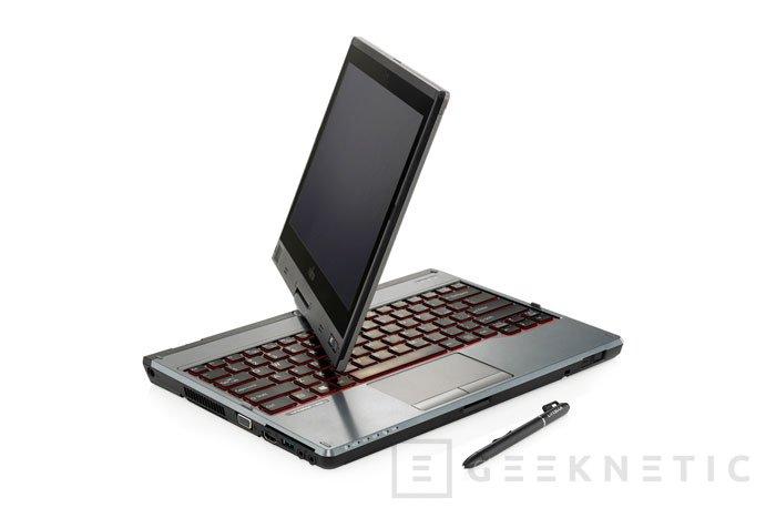 El nuevo convertible Fujitsu LifeBook T725 adopta los procesadores Broadwell de bajo voltaje, Imagen 1