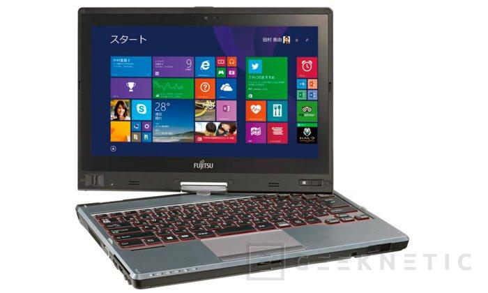 El nuevo convertible Fujitsu LifeBook T725 adopta los procesadores Broadwell de bajo voltaje, Imagen 2