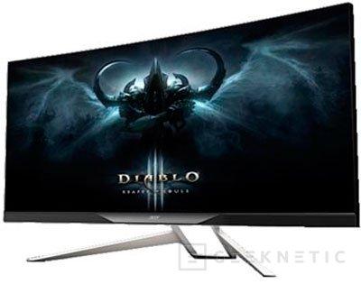 ACER se atreve con un monitor de 34 pulgadas con pantalla curva y G-Sync, Imagen 1