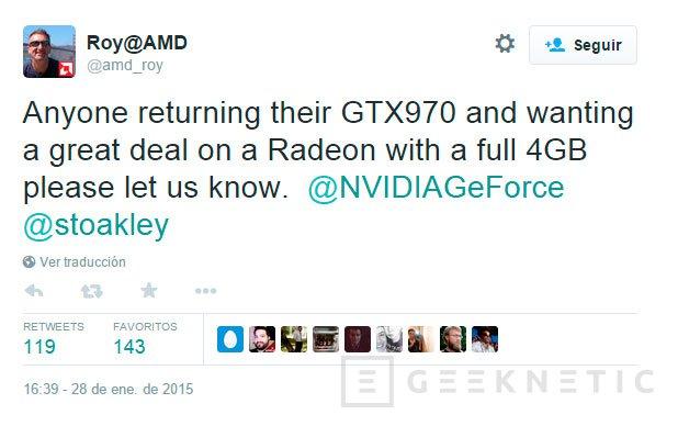 AMD ofrece descuentos a los usuarios que devuelvan sus GTX970, Imagen 1