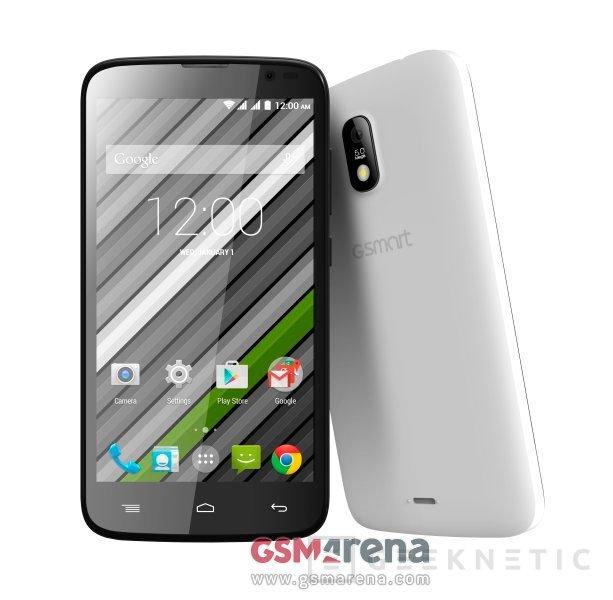 Gigabyte lanza tres nuevos smartphones GSmart, Imagen 1