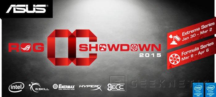 ASUS ROG OC Showdown 2015, concurso mundial para overclockers, Imagen 1