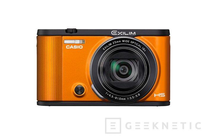 La nueva cámara compacta Casio Exilim EX-ZR1600 puede controlarse desde el móvil, Imagen 1