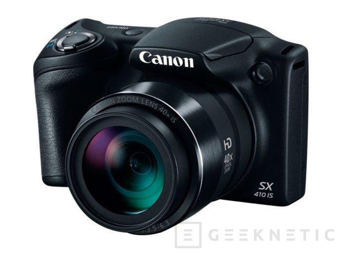 Canon añade un zoom de 40 aumentos a su nueva PowerShot SX410 IS, Imagen 1