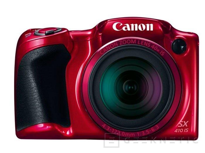 Canon añade un zoom de 40 aumentos a su nueva PowerShot SX410 IS, Imagen 2