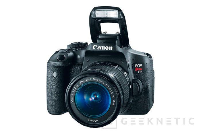 Llegan las Canon 760D y 750D para renovar la familia de DSLR de gama media, Imagen 1