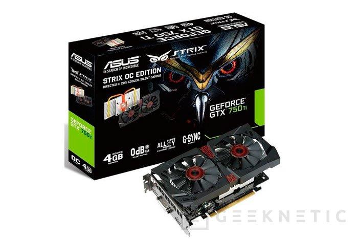 ASUS añade 4 GB de memoria a su GTX 750Ti Strix, Imagen 1