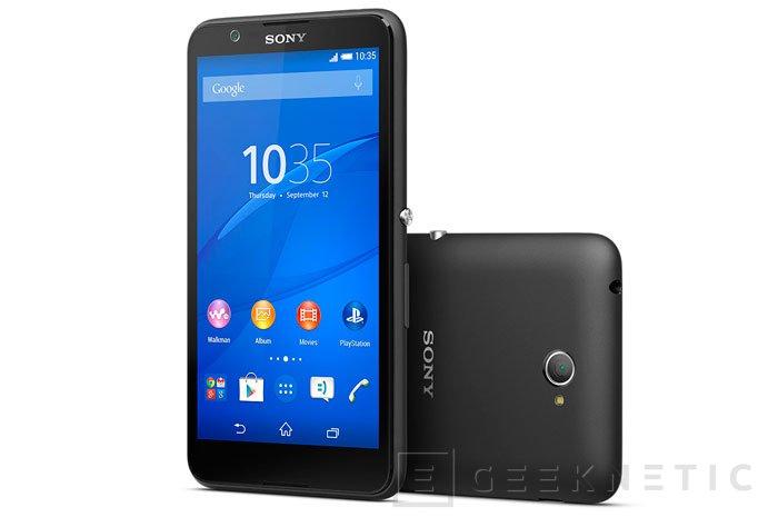 Llega el Sony Xperia E4 para renovar su gama más económica, Imagen 1
