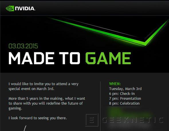 NVIDIA anunciará un nuevo producto el 3 de marzo , Imagen 1