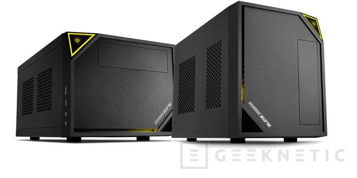 Sharkoon presenta dos nuevas torres cúbicas para placas mini-ITX, Imagen 1