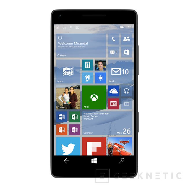 Microsoft lanza la preview de Windows 10 para smartphones, Imagen 1