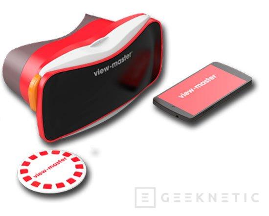 Mattel entra en la era digital con sus gafas de realidad virtual View-Master, Imagen 2