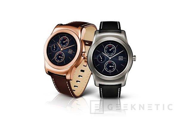 LG se pone serio con su nuevo reloj  inteligente Watch Urbane, Imagen 1
