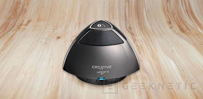 Creative presenta Woof 2, un altavoz inalámbrico que cabe en la palma de la mano, Imagen 1