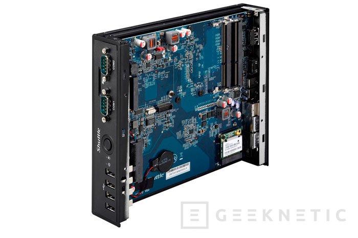 Llega el nuevo barebone pasivo Shuttle DS57U con procesador Intel Broadwell, Imagen 1