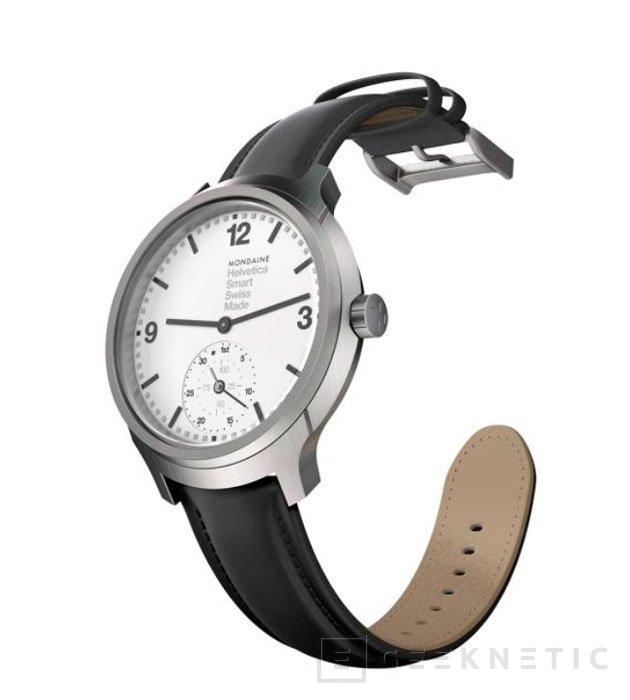 Mondaine lanza una pulsera deportiva con forma de reloj, Imagen 1