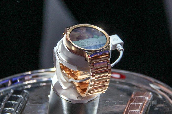 Huawei muestra dos prototipos fabricados a mano de su Smartwatch, Imagen 1