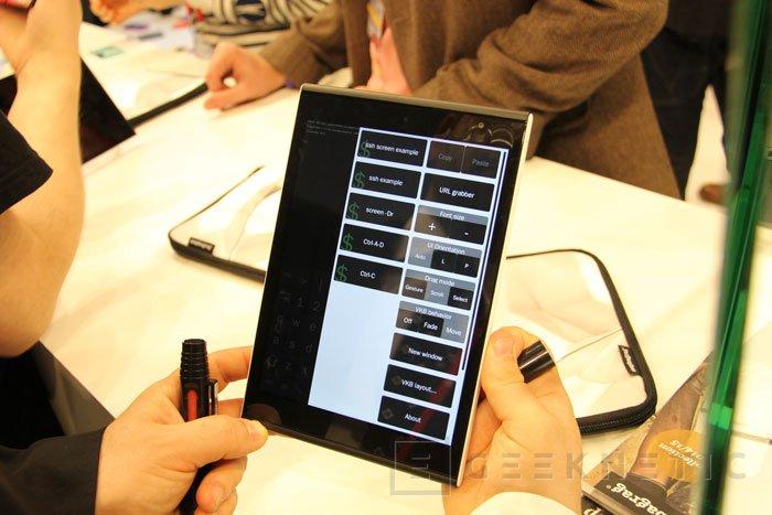 Jolla Tablet con Sailfish OS 2.0, Imagen 1