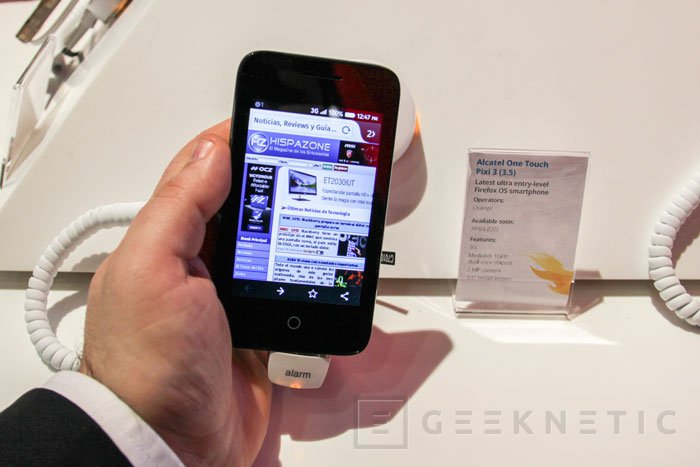 Alcatel Pixi 3, el móvil con tres sistemas operativos, Imagen 1