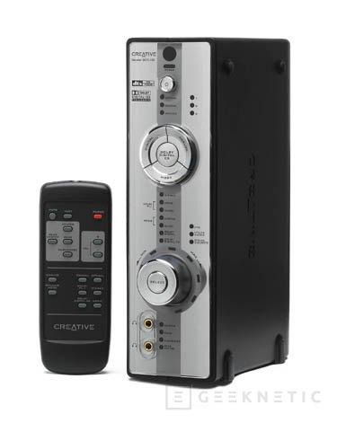 Nuevo decodificador ddts 100 de creative y sistema de altavoces td7700, Imagen 1