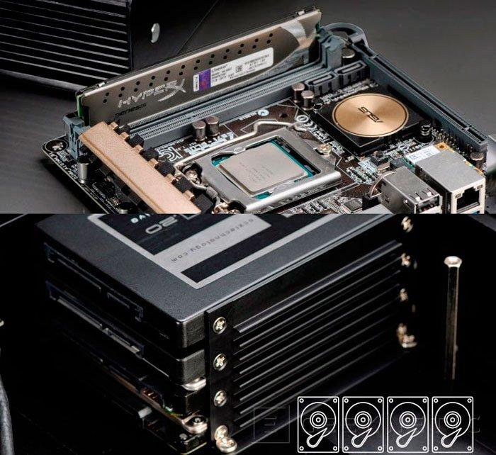 Las nuevas torres Akasa Euler utilizan su propia carcasa como disipador para la CPU, Imagen 2