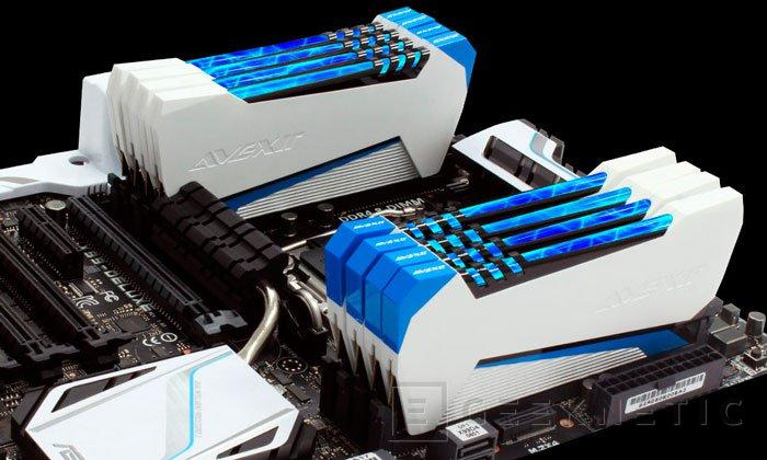 Avexir pone rayos en sus nuevas memorias DDR3 TAIDEN, Imagen 2