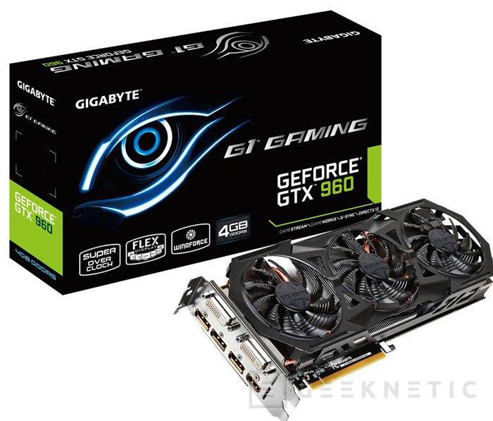 Gigabyte también tiene sus propias GTX 960 con 4 GB de memoria, Imagen 2