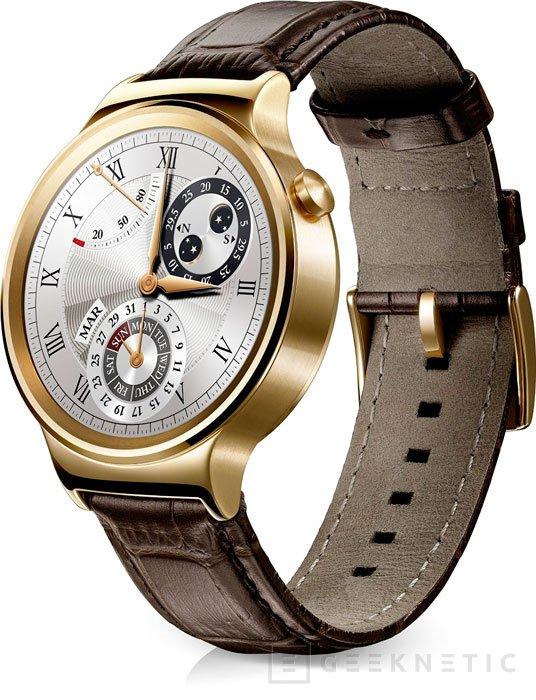 Ya disponible para reservar el Huawei Watch por 1.000 Euros, Imagen 1