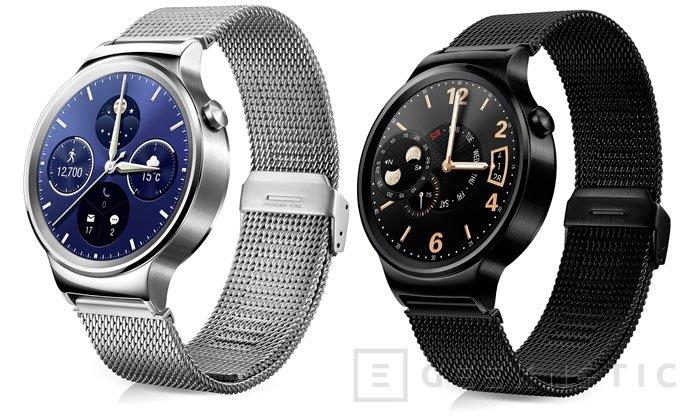 Ya disponible para reservar el Huawei Watch por 1.000 Euros, Imagen 2