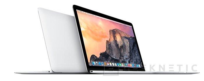 Apple presenta el MacBook, su portátil más fino y ligero, Imagen 1