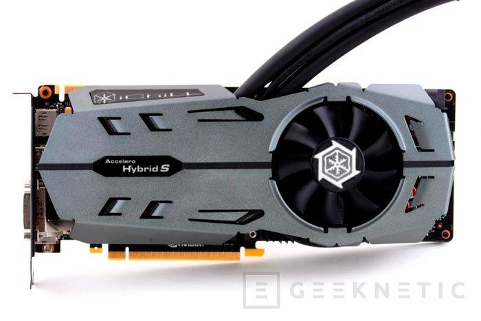 Las Inno3D iChill GTX 980 y GTX 970 Black Series integran un sistema de refrigeración híbrido aire-agua, Imagen 1