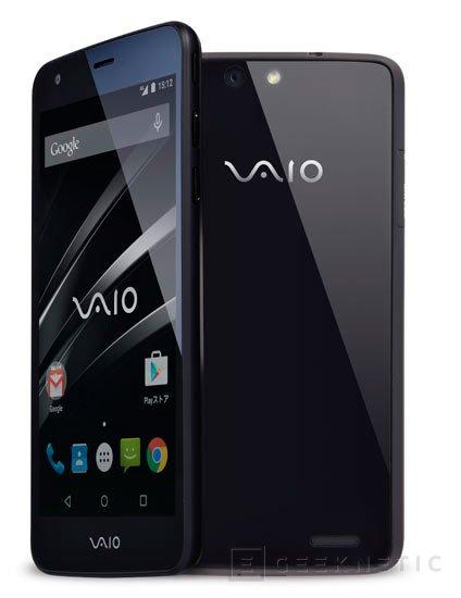 VAIO lanza su primer smartphone, Imagen 1