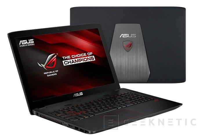 ASUS ROG GL552, la gama económica de portátiles gaming se renueva con las GTX950M, Imagen 1