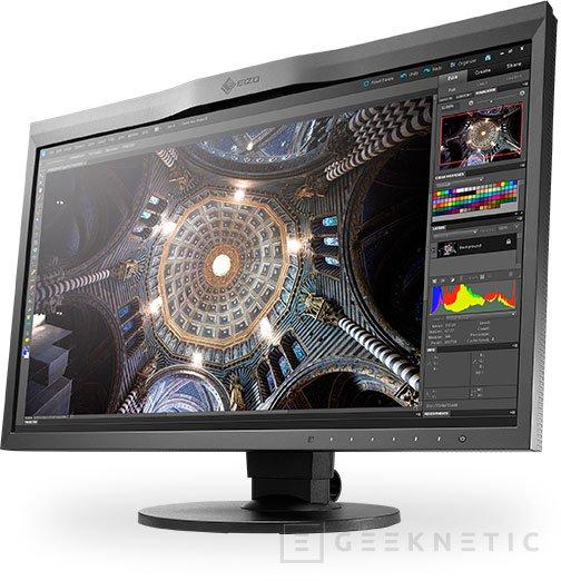 EIZO ColorEdge CG248-4K, un monitor UHD de 23,8 pulgadas, Imagen 1