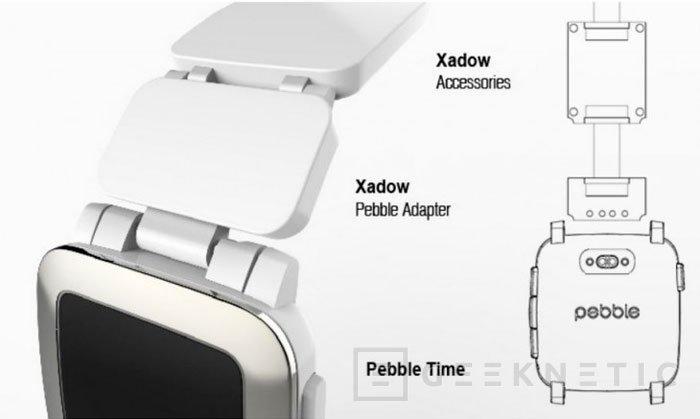 Pebble muestra el concepto de correas inteligentes para sus smartwatch, Imagen 1