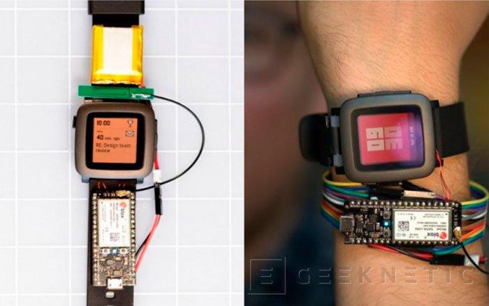 Pebble muestra el concepto de correas inteligentes para sus smartwatch, Imagen 2