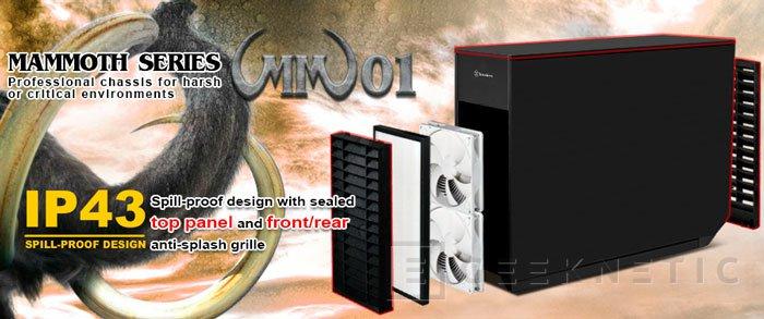 SilverStone Mammoth MM01, torre E-ATX con resistencia IP43, Imagen 2