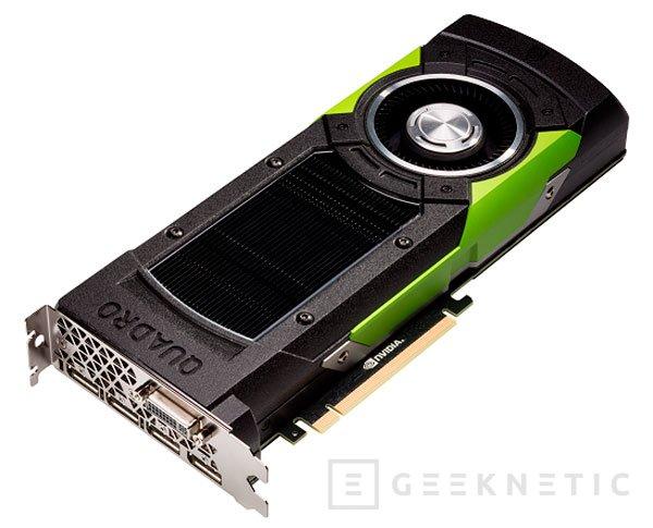 PNY anuncia la NVIDIA Quadro M6000 por 4.991 Euros, Imagen 1