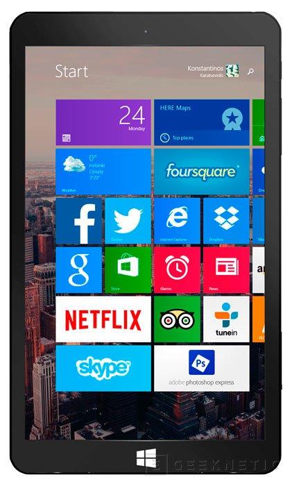 Eve T1, nuevo tablet económico con Windows 8.1 y 2 GB de RAM , Imagen 1