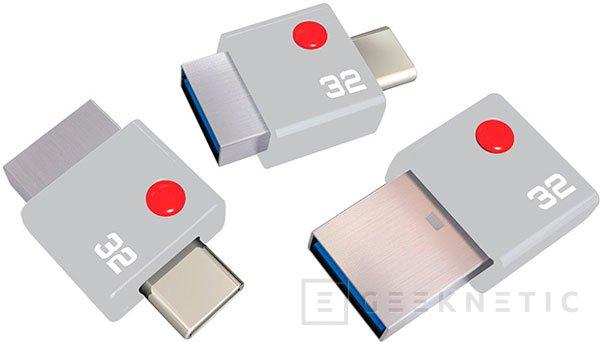 Emtec DUO, minúsculo pendrive con USB Type-C y Type-A, Imagen 1