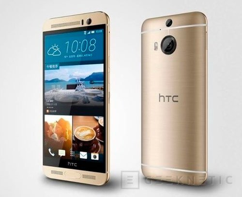 HTC presenta el One M9+ con DUO Camera y resolución Quad HD, Imagen 1