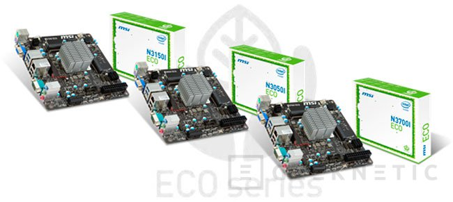 MSI integra los nuevos SoCs Intel Braswell en su gama de placas ECO, Imagen 1